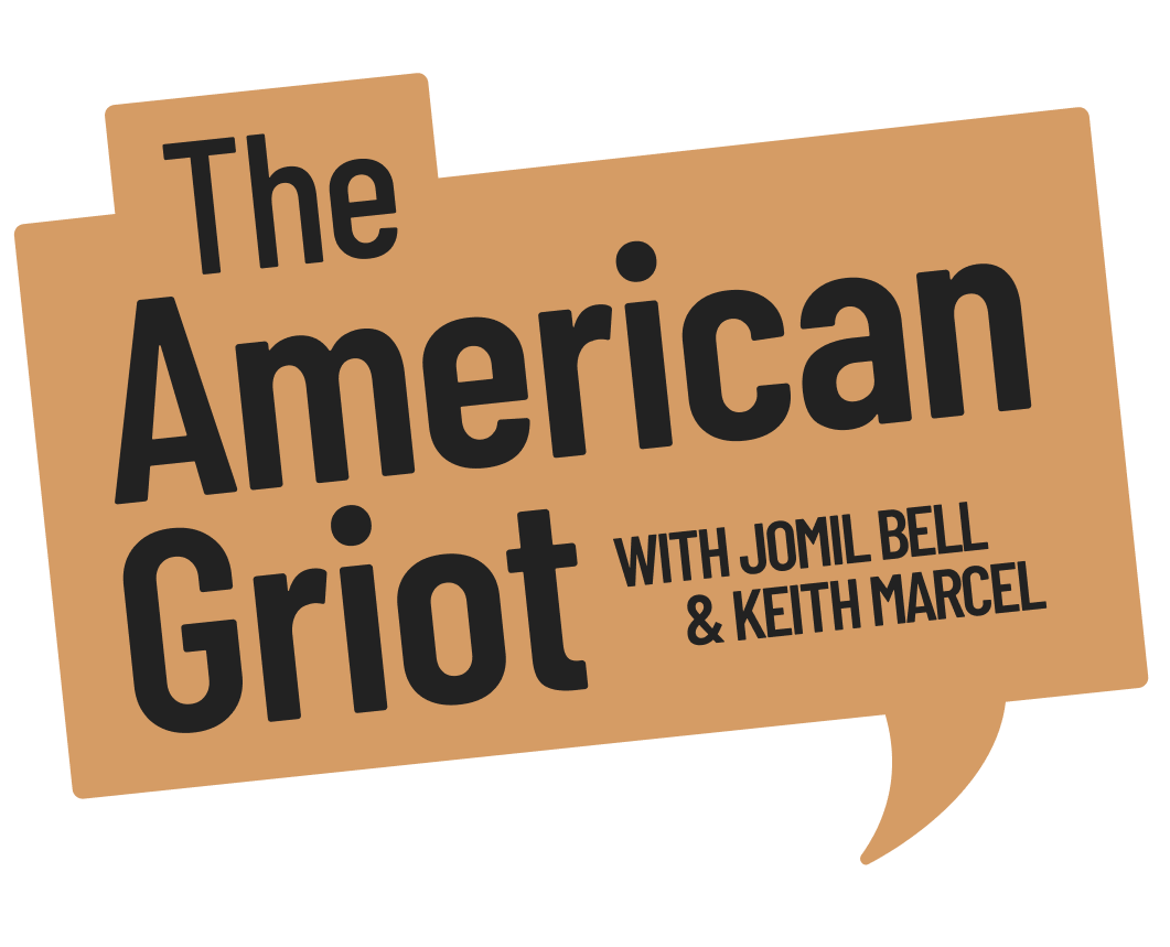 The American Griot Podcast bubble logo